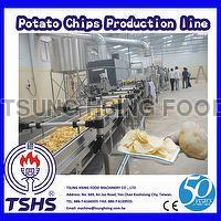 High Performance Successive Auto Fryer Potato Chips Factory Machine