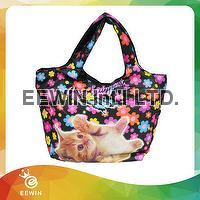 Shopping lovely printed customized  bag