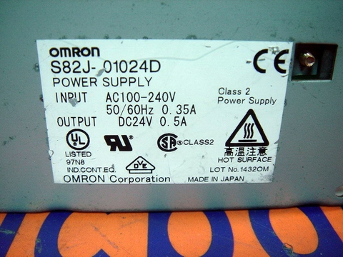 OMRON POWER SUPPLY S82J-01024D