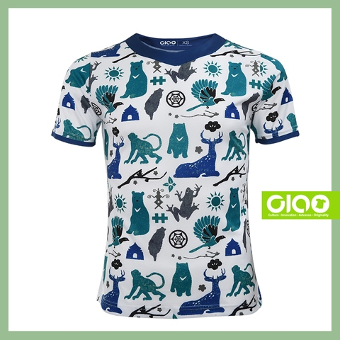Soft Sublimation polyester yarn baby wear