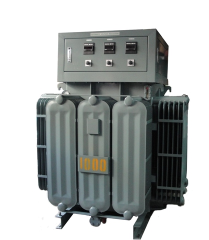 Heavy Duty Inductive Voltage Regulator, Oil-immersed Cooling type, Heavy Duty Contactless IVR, Industrial Grade AVR