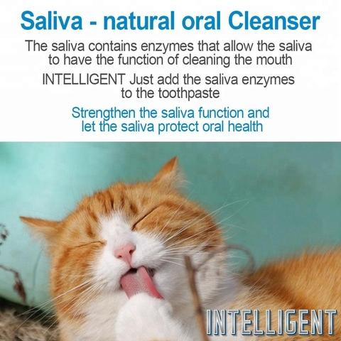 Intelligent Toothpaste for Pets with Natural Enzymes
