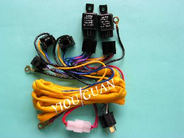 H4-2Lamp wire harness