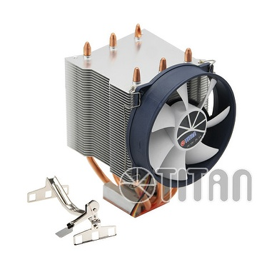 AMD Cooler -A copper base with aluminum fins