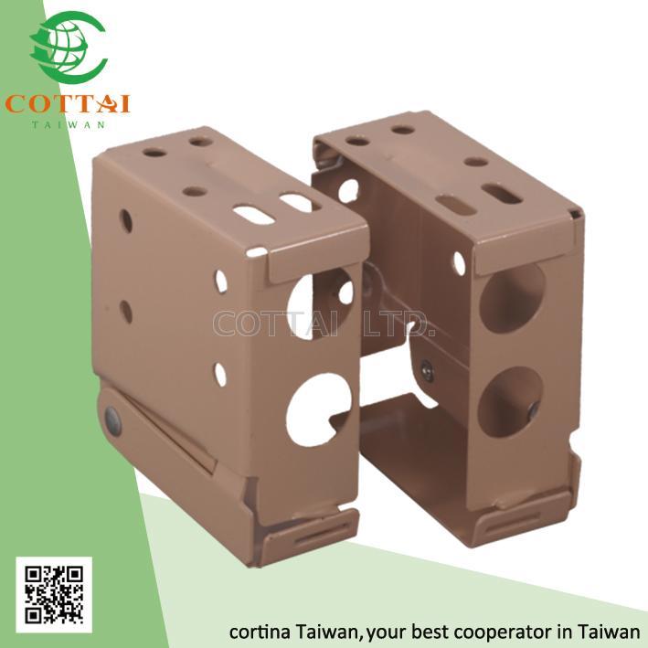Taiwan Cottai Venetian Blinds Steel Brackets Blind Components Blind