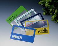Lupa de la lente de Fresnel de la tarjeta de crédito flexible
