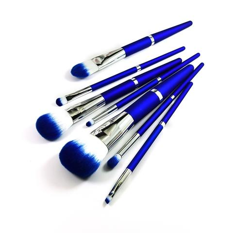 synthetic hair cosmetic makeup brush set
