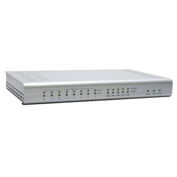 SIPv2 compliant. Provides FXS, FXO, ISDN PRI E1, ISDN PRI T1 telephony interfaces (vary by model). Inbuilt GE or FE switch. QoS, 802.1q VLAN tagging. Support G.711, G.729a, G.723.1, G.726 codec
