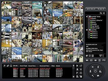 Taiwan Center Surveillance Management System Software(CMS