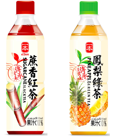 E-BEN Taiwan Featured Fruit Tea Series