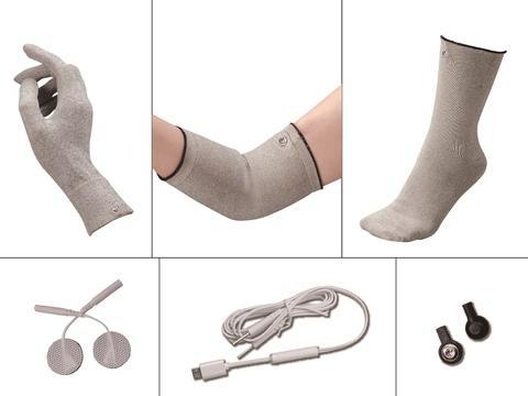 Wearable E-Massage Textiles