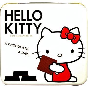 《Chokito》Hello-Kitty--Dark-Chocolate(white)-60g