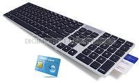 Digimore Smart Card USB Keyboard for Mac/PC, Low Profile