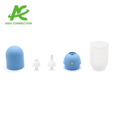 Infant Auto-Bulb Manual Nose Suction Aspirator in Parts