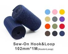 "102mm(4"") Width 1 Pair Meter Sew-On Hook & Loop"