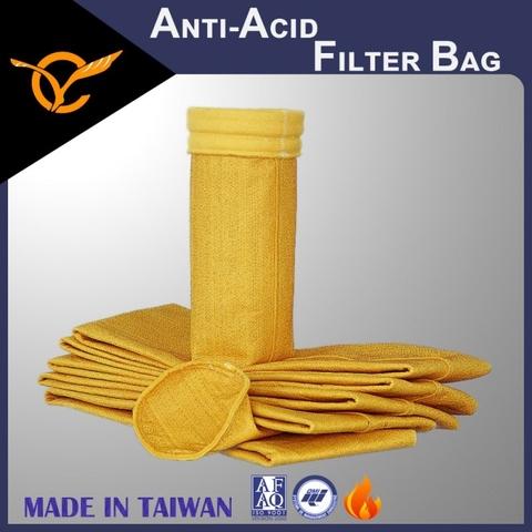 Anti-Acid PTFE Dust Filter Bag For Carbon Materials Plant