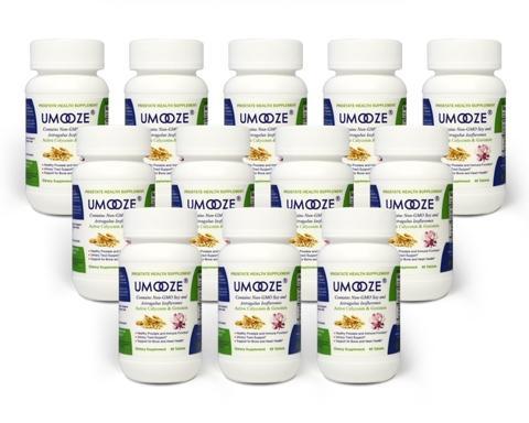 UMOOZE Set B, Promote a Healthy Prostate, Naturally keep prostate health, Astragalus and Soybean Extracts