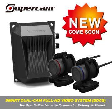 Advanced Full-HD Dual-Cam Video System for Motorcycle
