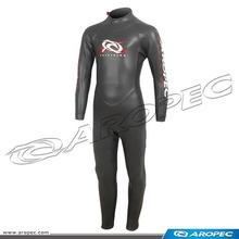 Aropec Triathlon Wetsuit, Fullsuit, 3/2mm Super Stretch Skin Triathlon Fullsuit For Kids