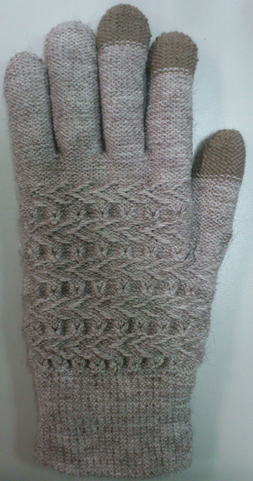 Double Layer Touching gloves