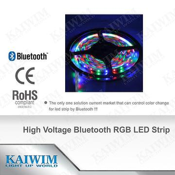 High Voltage Bluetooth RGB LED Strip