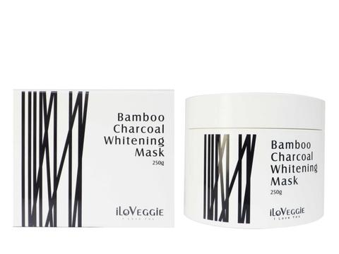iLoVeggie Cleansing Bamboo Charcoal Whitening Mask