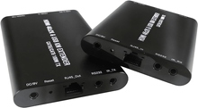Single Over Cat 5e/6 HDMI KVM Extender, 100M