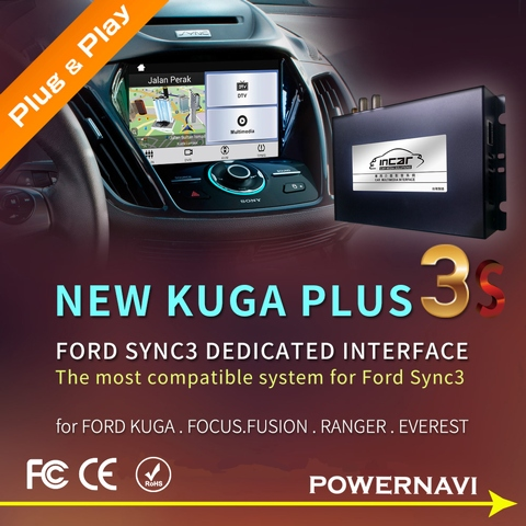 Taiwan Ford SYNC3 Audio and Video Interfaces | Taiwantrade