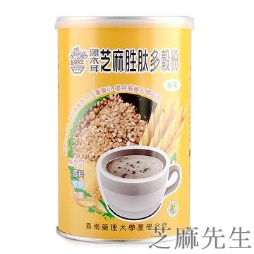 Black fungus sesame peptide cereals powder