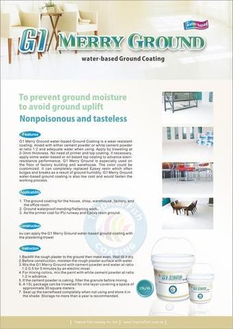 G1 Merry Ground water-based Ground Coating