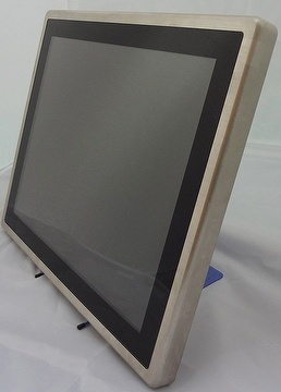 "Flat Panel Display,Alumin Flat panel,Flat panel 20mm, VGA,DVI, Infrad Touch Screen, 17"" Flat Panel Display"