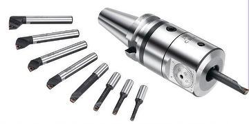 CBI Small Diameter Finish Boring Head + LBK Shank (MAS 403 BT) + Tool Extension Type BJ
