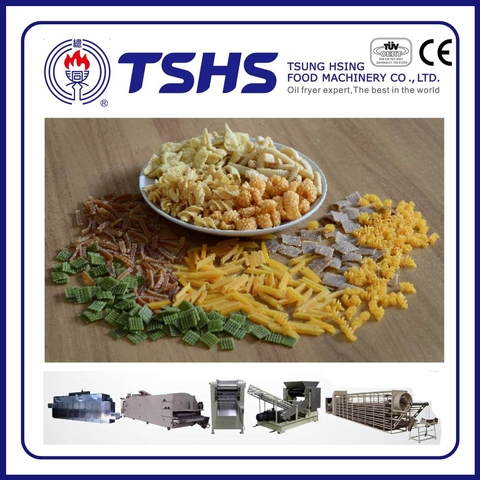 Professional Fried Pellet chips Machine with CE approved