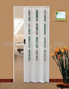 Taiwan Pvc Folding Doors Partition Doors Screen Doors