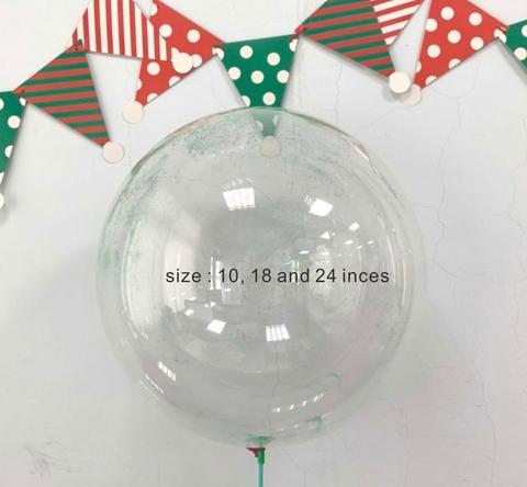Clear bubble balloon