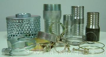 Hose Clamp, KC Nipple Mender Strainer,