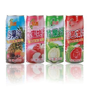 1000系列歐典多果汁、歐典水蜜桃汁、歐典芭樂汁、歐典紅芭樂汁