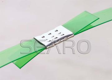 Steel strapping seals for PP, PET and steel strap