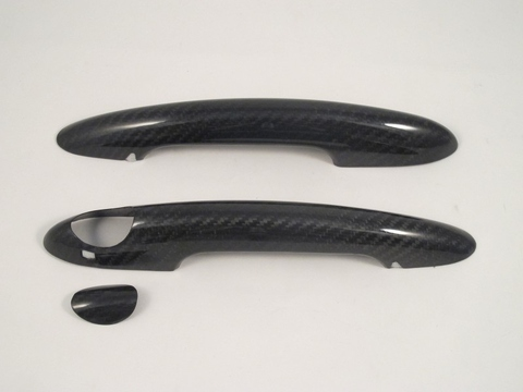 DRY CARBON DOOR HANDLE COVER FOR F56 14~ON  RHD