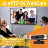 ePTZ WebCam for Video Conference