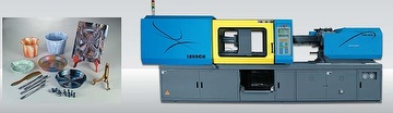 Multicolors Plastic Injection Molding Machine