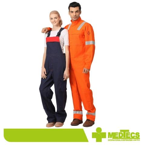 Taiwan workwear clothing worker suit fire retardant coverall