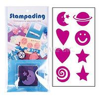 Stampading© Foam Stamp with Inkpad 泡棉印章印台