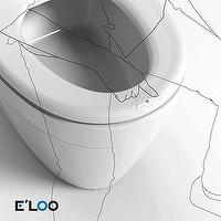 Front Touch Intelligent Toilet Seat