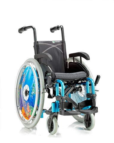 Alumin wheelchair-GROWIN