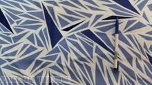 Printed pattern polyester fabric