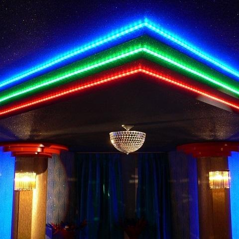 Interior Decorative with LED Srtip