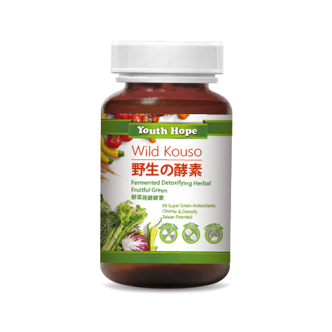 Fermented Detoxing Herbal Fruitful Greens 野菜発酵酵素