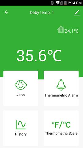 Personal Smart Digital Wireless Temperature Monitor