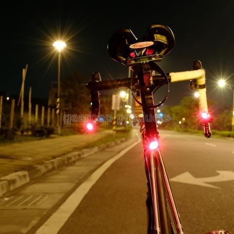 Combine tail light and seat post clamp.